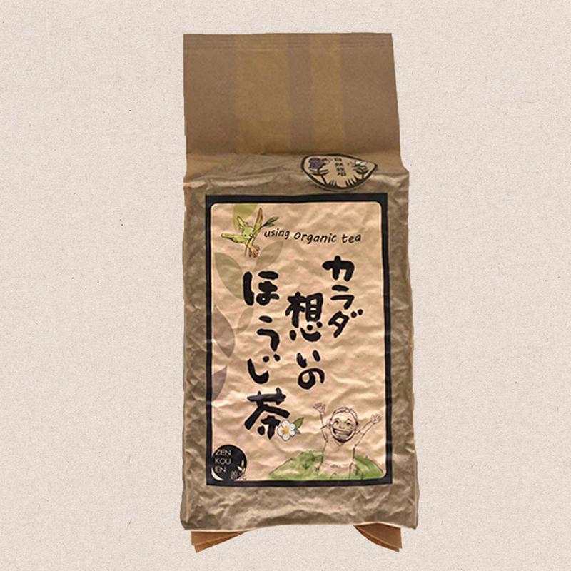 自然栽培 「秋」カラダ想いのほうじ茶 200g