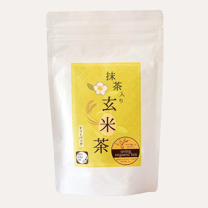 ティーバッグL 抹茶入り玄米茶 5g×15P