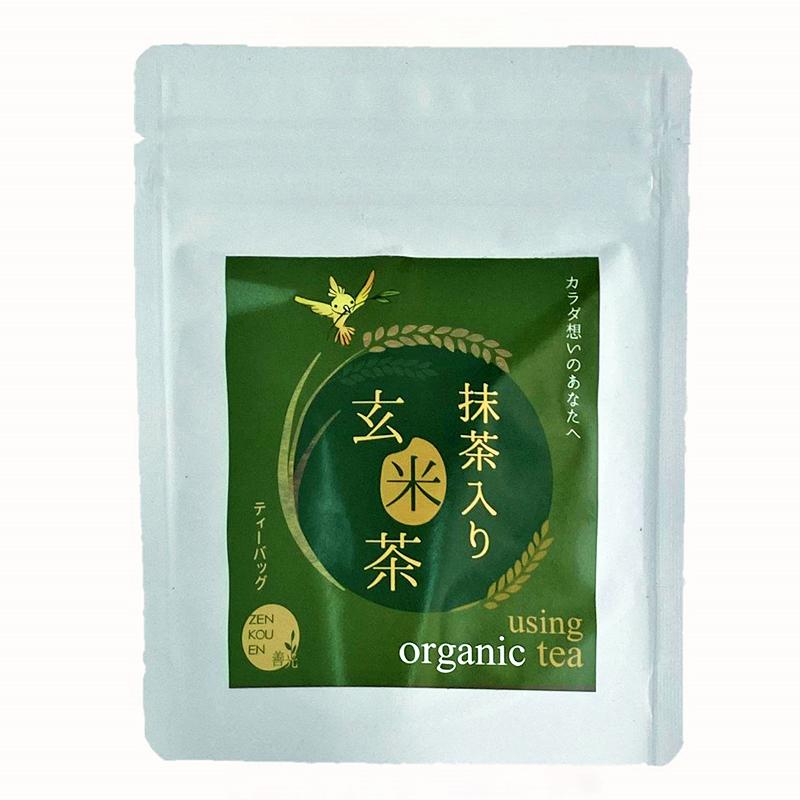 ティーバッグS 抹茶入り玄米茶 2.5g×10P