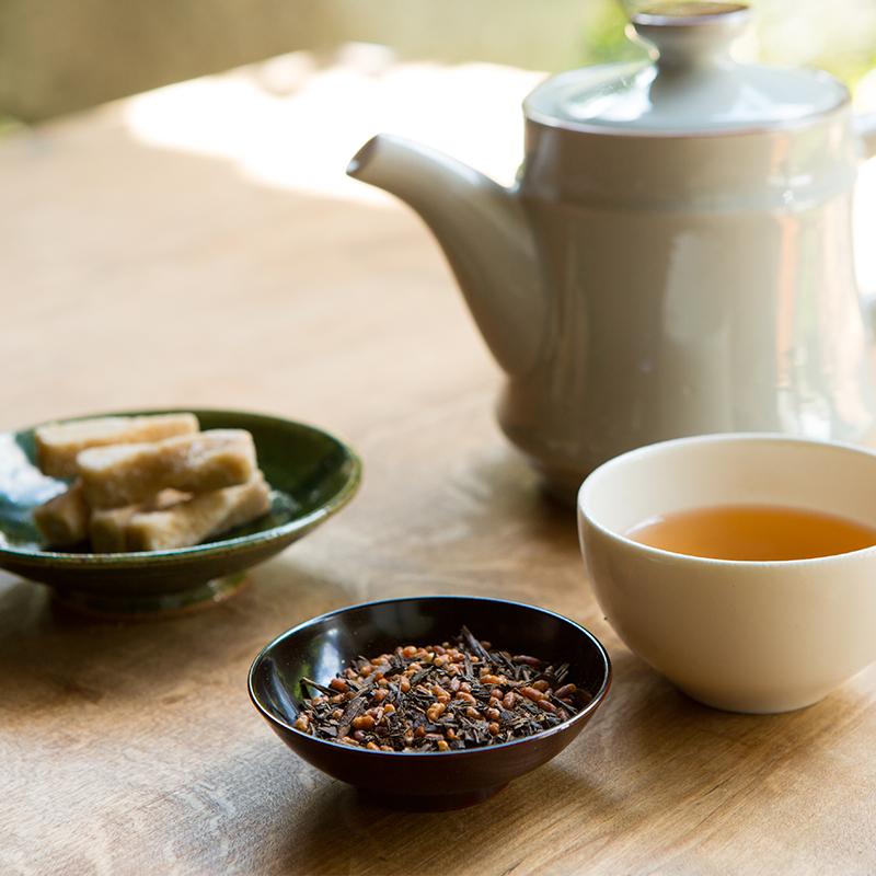 有機茶使用 ほうじ玄米茶150g